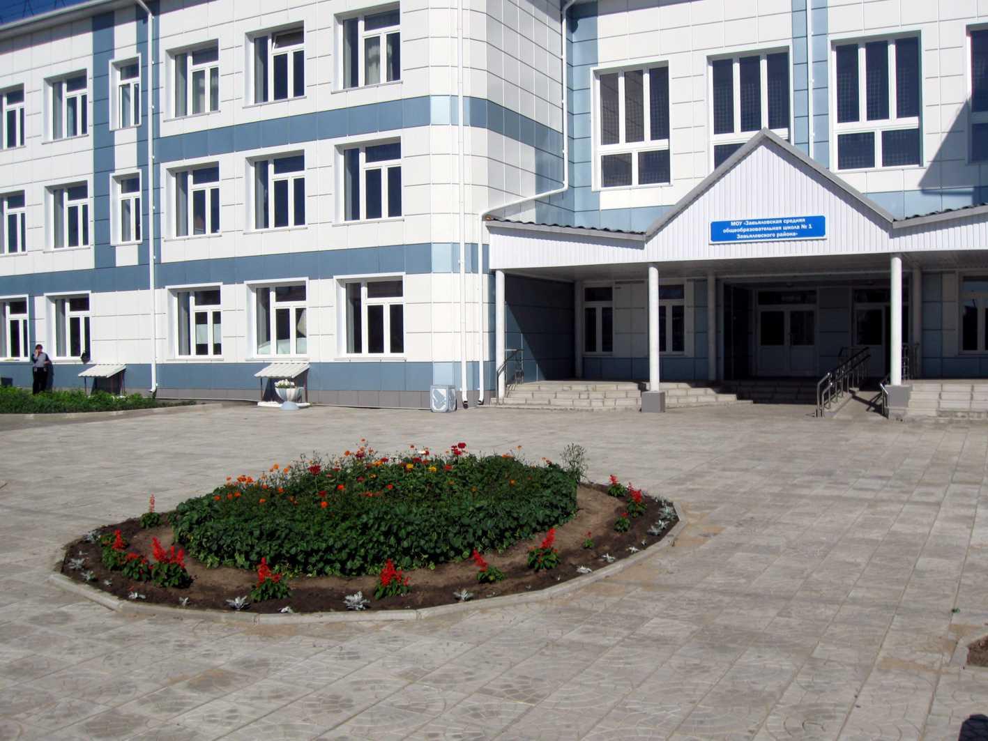 Фасад школы фото